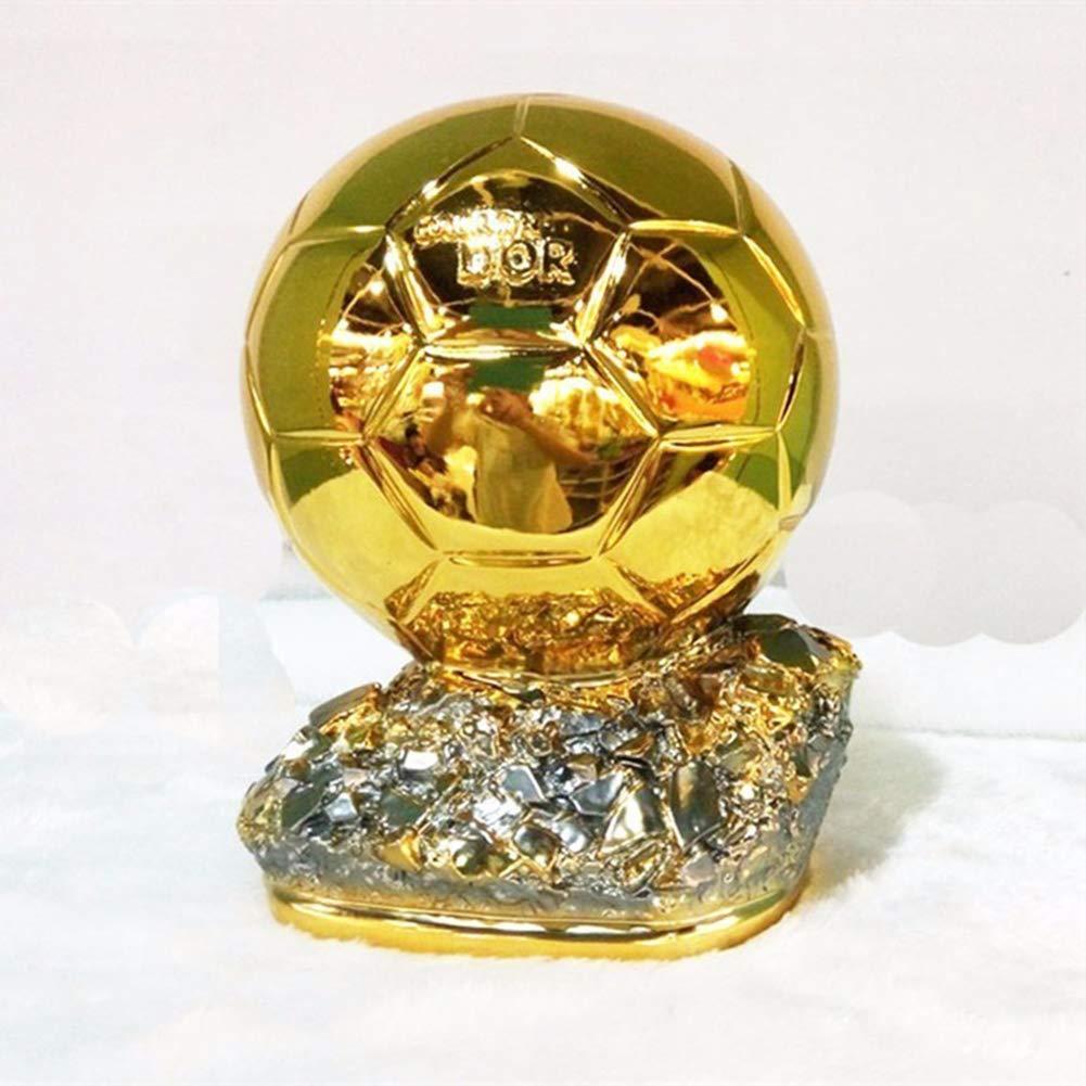 26cm-16cm 21cm 16cm MVP Hollow Soccer Fans Craft Joueur du Monde Souvenir du Monde Troph/ée Football Ballon dor