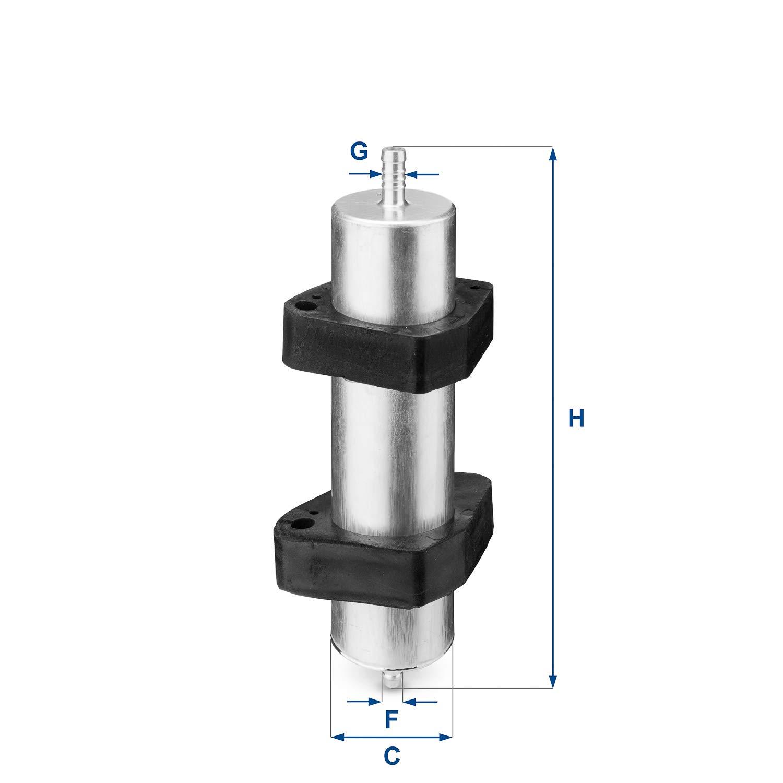 UFI Filters 31.824.00 Dieselfilter