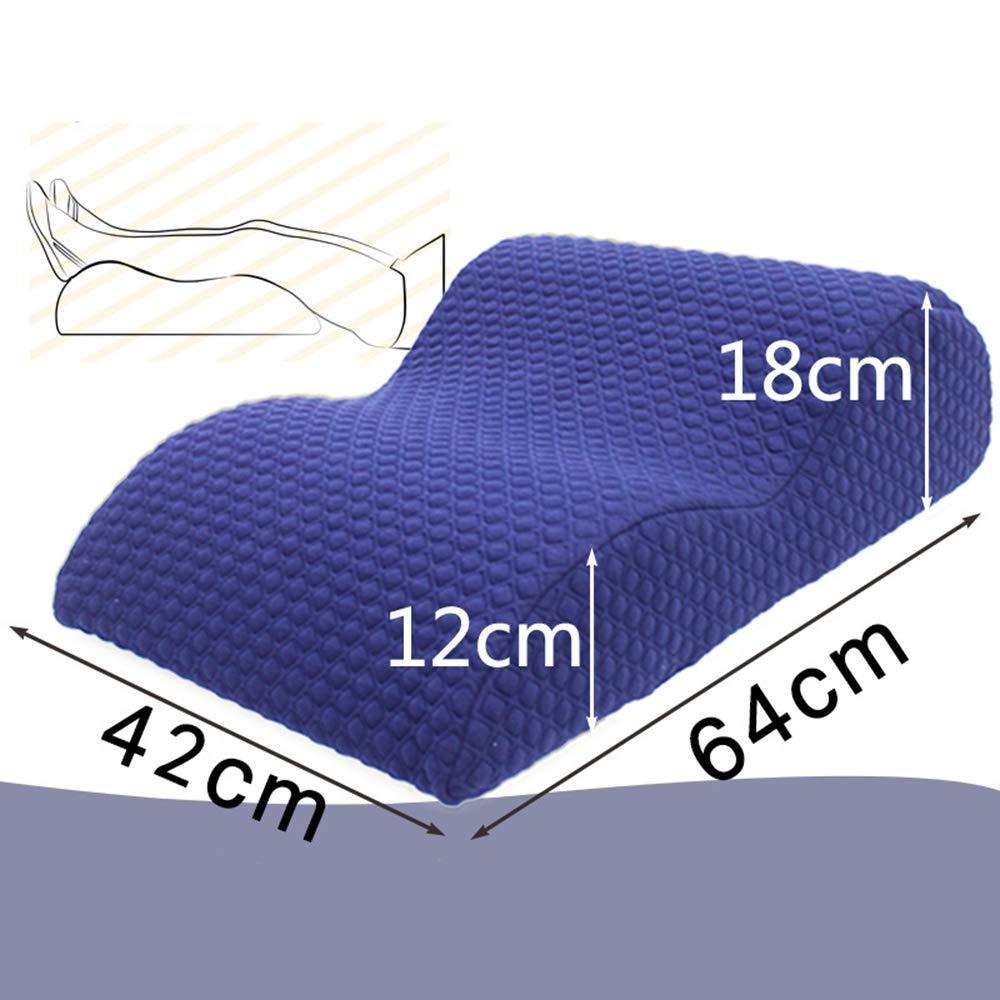 I Leg Rest Pillow with Memory Foam Pregnant Woman Bed Lift Leg Pad Vein Pad Leg Pillow Leg Pillow Foot Pillow Sleeping Pillow,F