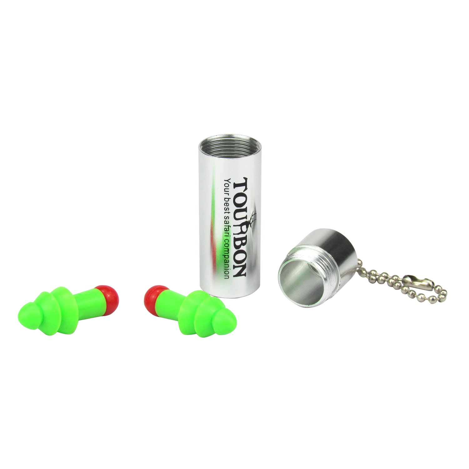 Tourbon Silicone Ear Plugs Hearing Protectors Noise Reducer Musicians With Carry Case Two Packs