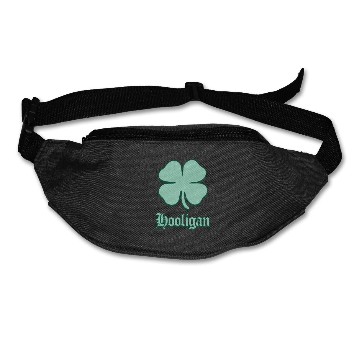 Irish Shamrock Crown Sport Waist Pack Fanny Pack Adjustable For Travel