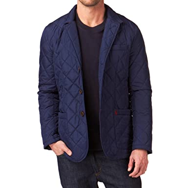 Joules Mens Hillwood Quilted Jacket Navy Nhillwood Xxl Amazon