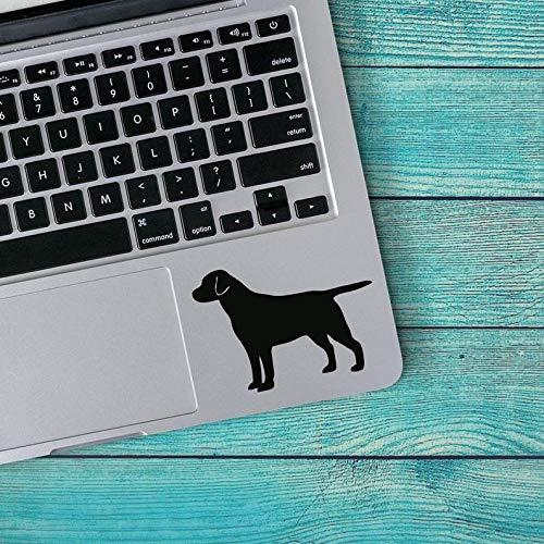 CELYCASY Labrador Retriever Dog Breed Silhouette Custom Vinyl Decal Sticker - Lab Mom - Dog Mom - Black Lab - Yellow Lab