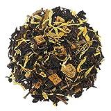 The Tea Farm - Peach and Cream Oolong Fruit Tea - Taiwan Loose Leaf Oolong Tea (2 Ounce Bag)