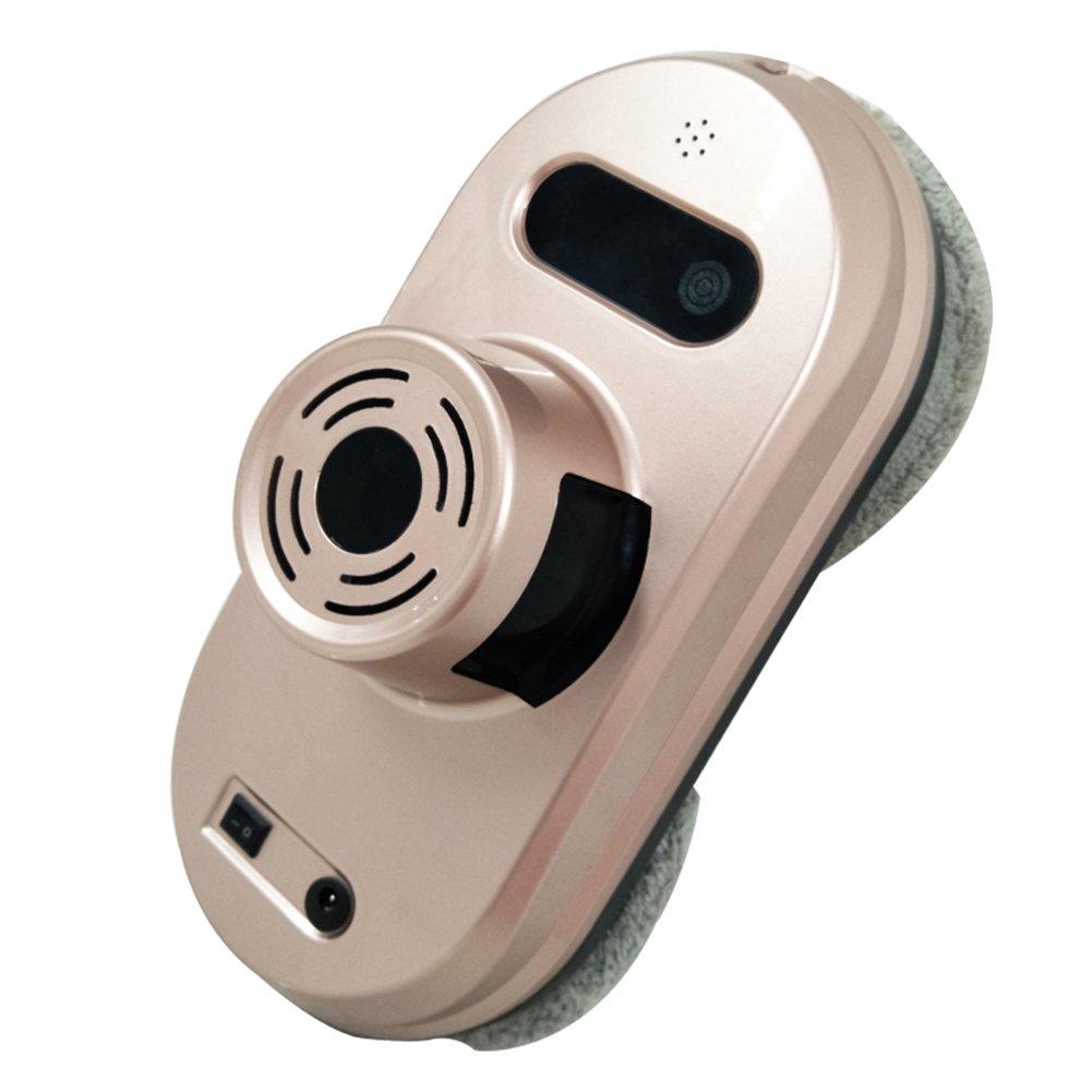 Domybest Robot Limpiacristales Automático Vidrio de Ventana Antidesgaste, 3 Modo de Limpieza con Control Remoto (Oro Rosa): Amazon.es: Hogar