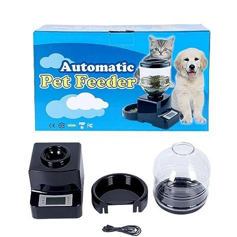 WYXIN Alimentador automático del animal del alimentador del gato del alimentador del animal doméstico del animal