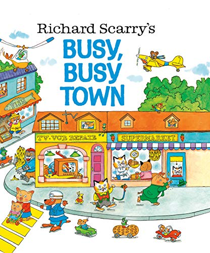 Richard Scarry's Busy, Busy Town (The Busy World Of Richard Scarry Game)