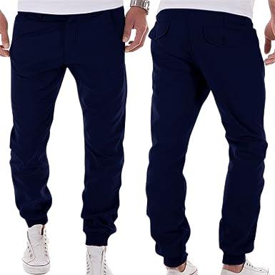 ed5c922710c6 Bonboho Mens Zip Jogger Trousers - Casual Gym Fitness Tracksuit Bottoms  Slim Fit Chinos Sweat Pants  Bonboho  Amazon.co.uk  Clothing