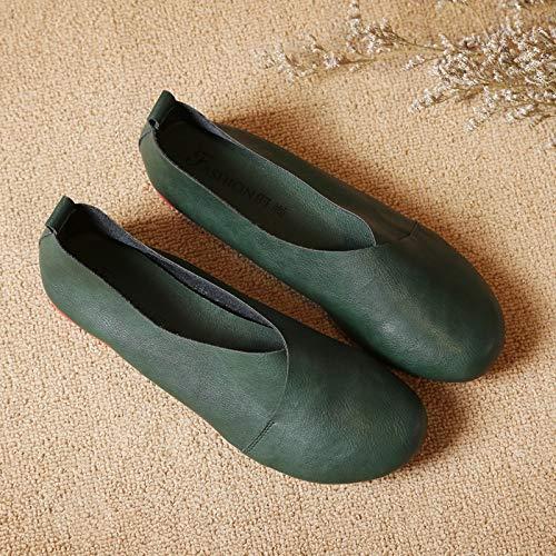 42 Taille Eu Shoes Qiusa Noir Vert couleur qRXZxzn8w