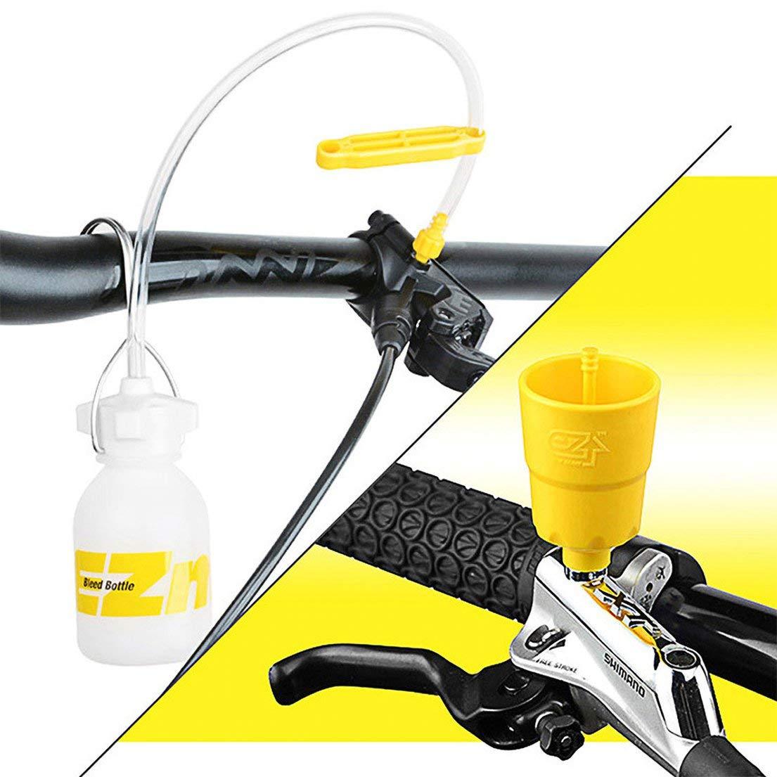 Serie MAGURA Herramienta de reparaci/ón de Freno de Bicicleta de Carretera SRAM TEKTRO SKYYKS Herramientas de Kit de Purga de Aceite de Freno de Disco hidr/áulico para Bicicleta