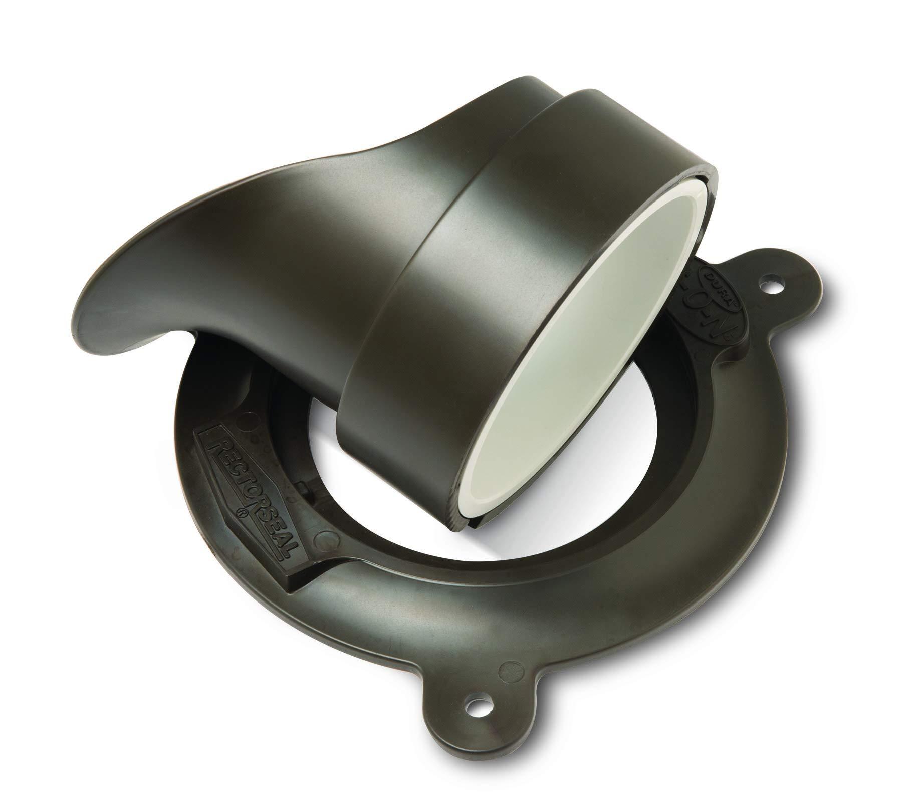 Rectorseal 82763 Dura G-O-N downspout nozzle 3 inch oil rubbed bronze by Rectorseal