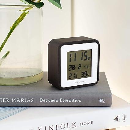 Reloj de Londres con Acabado de Madera Oscura, Alarma ...