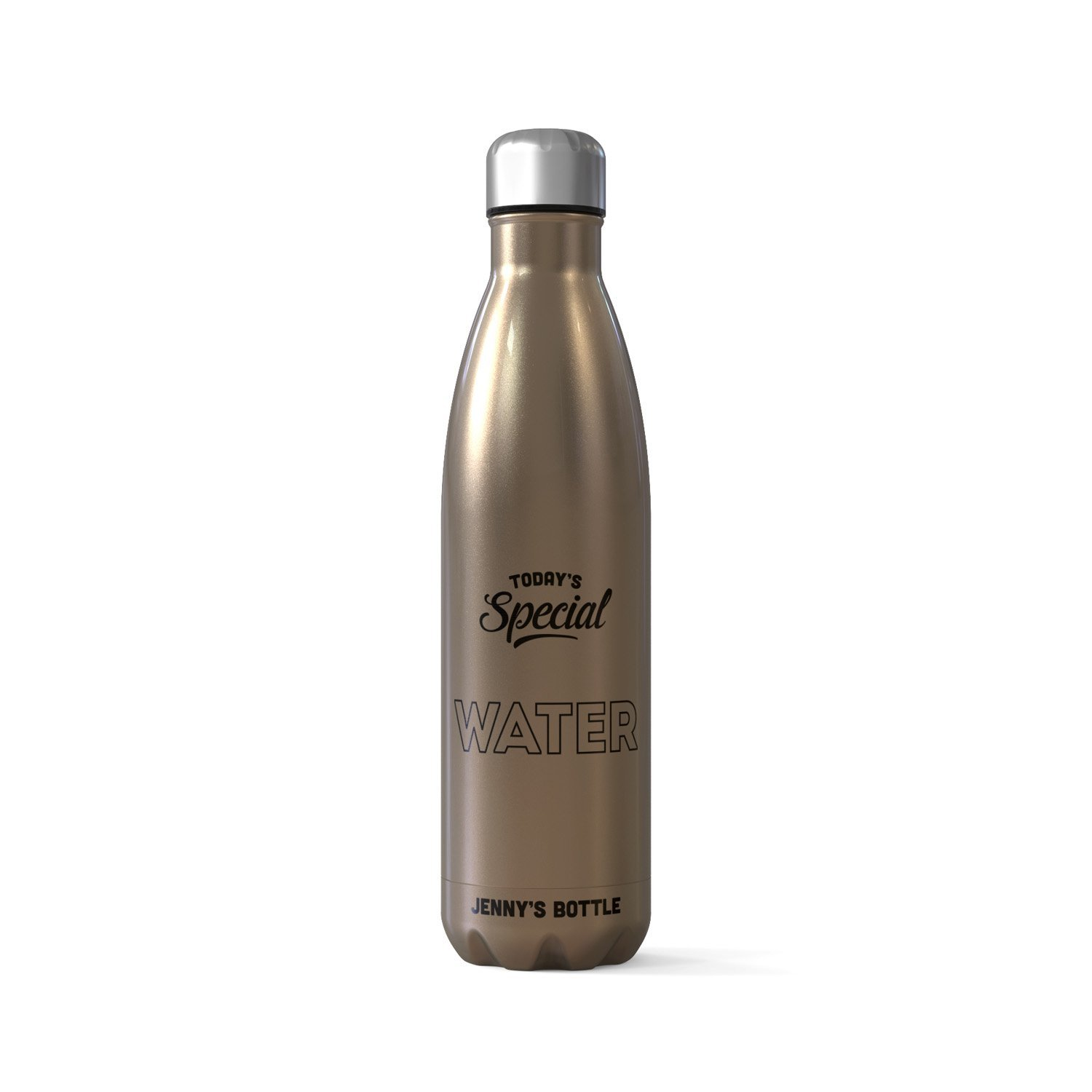 Personalized CoHo Bottle Flask Todays Special Water