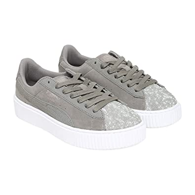 finest selection 1a4f3 54fa2 PUMA Suede Platform Pebble WN's: Buy Online at Low Prices in ...
