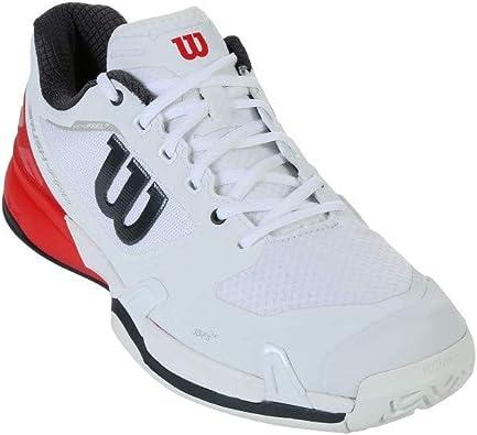 Wilson Rush Pro 2.5, Zapatillas de Tenis para Hombre, (WH/Fiery ...