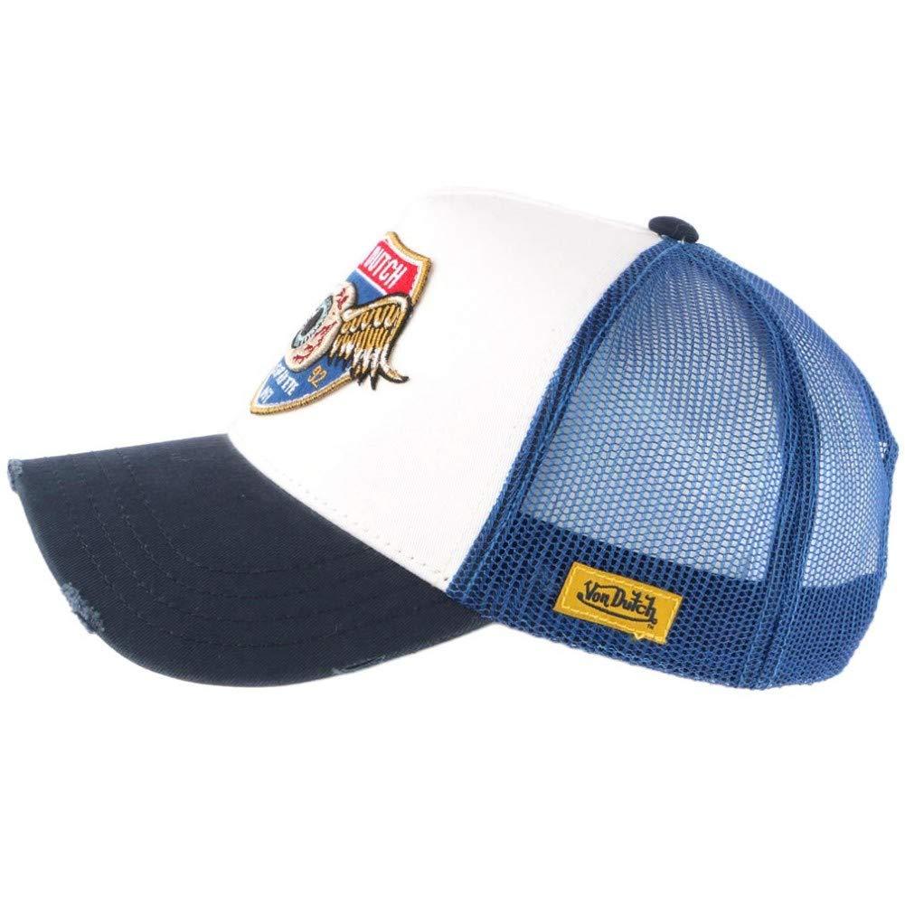 Color Blanco y Azul Gorra de b/éisbol Von Dutch