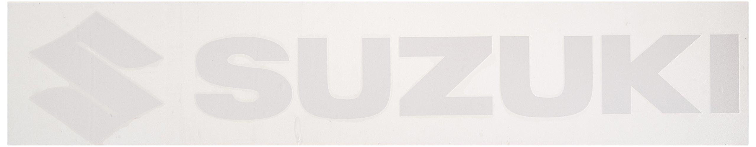 Factory Effex 08-94414 White 3' (Suzuki) Die-Cut Sticker