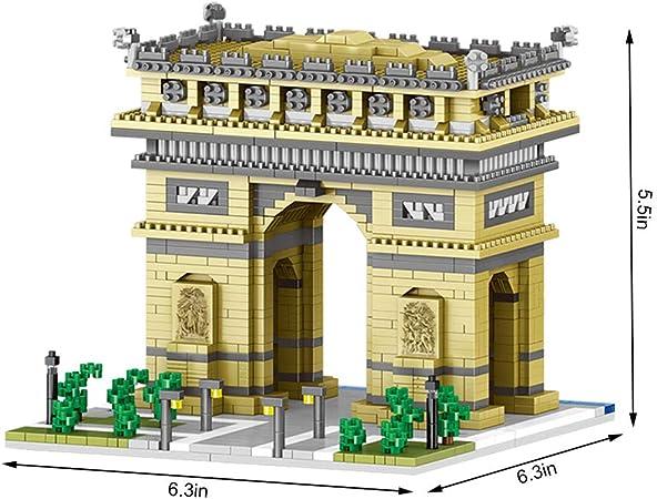 1401pcs Bricks for The Arc de Triomphe Model Building Blocks Mini Street Toys