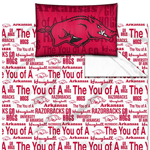 Arkansas Ncaa Sheet Set (Northwest Arkansas College Twin Anthem Series Sheet Set)