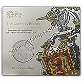 The Unicorn of Scotland 2017 UK Brilliant Uncirculated £5 Coin