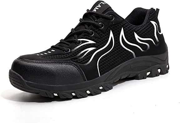 MARITONY Steel Toe Indestructible Safety Shoes for Men Women Outdoor Work Shoes Lightweight Industrial Construction Labor Protection Shoes