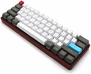 61 teclas ANSI Diseño OEM Perfil PBT gruesas Teclas para teclado mecánico 60%
