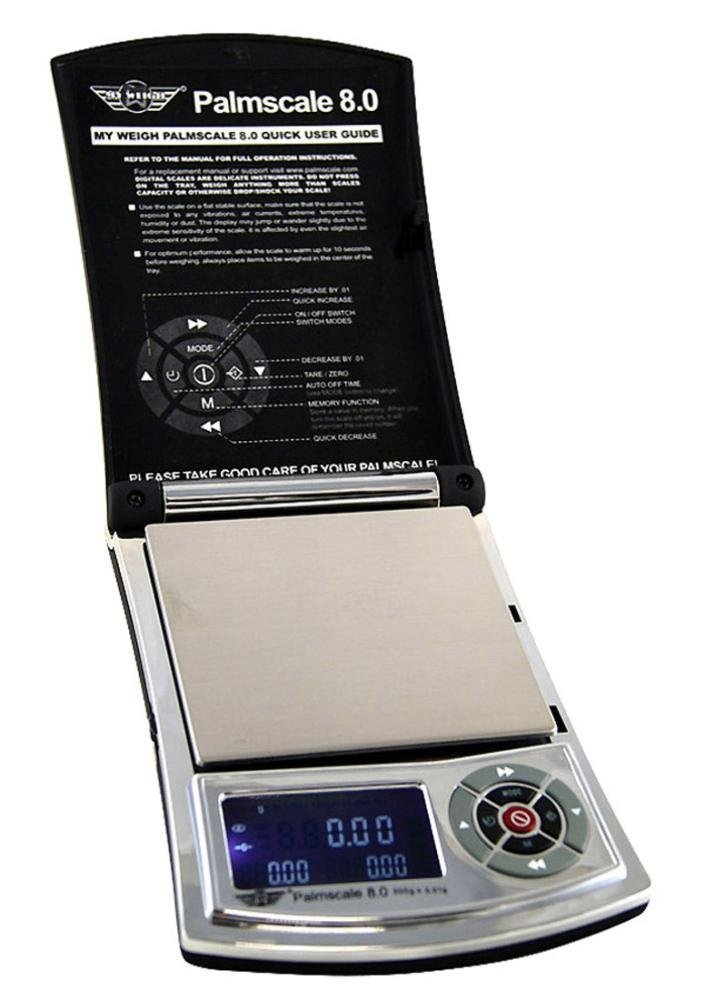 PalmScale SCPS8800 088 8.8 800g by 0.1g Scale My Weigh
