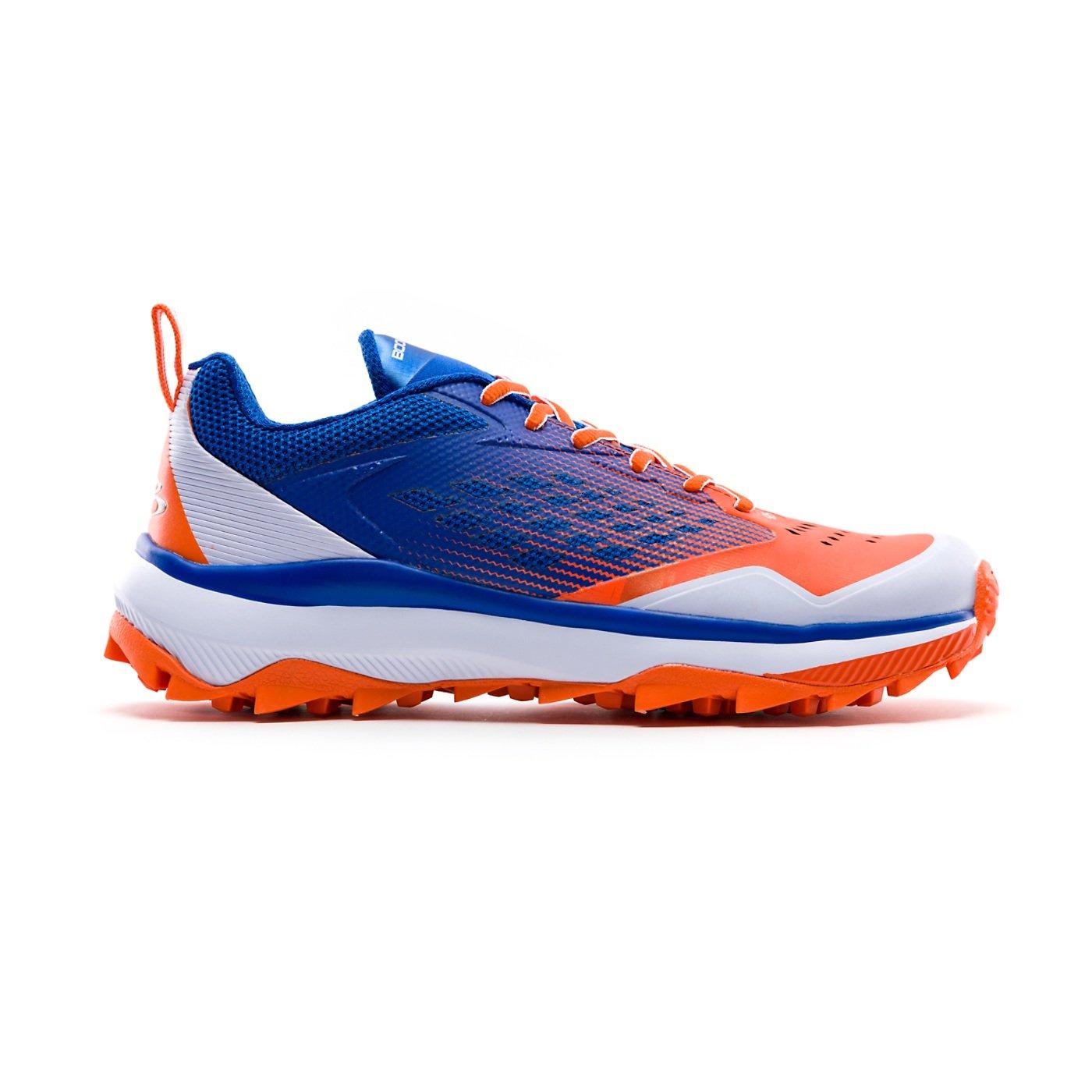 Boombah Men 's Marauder Turf Shoes – 8カラーオプション – 複数のサイズ B07BS35NNZ 10.5|ロイヤル/オレンジ ロイヤル/オレンジ 10.5