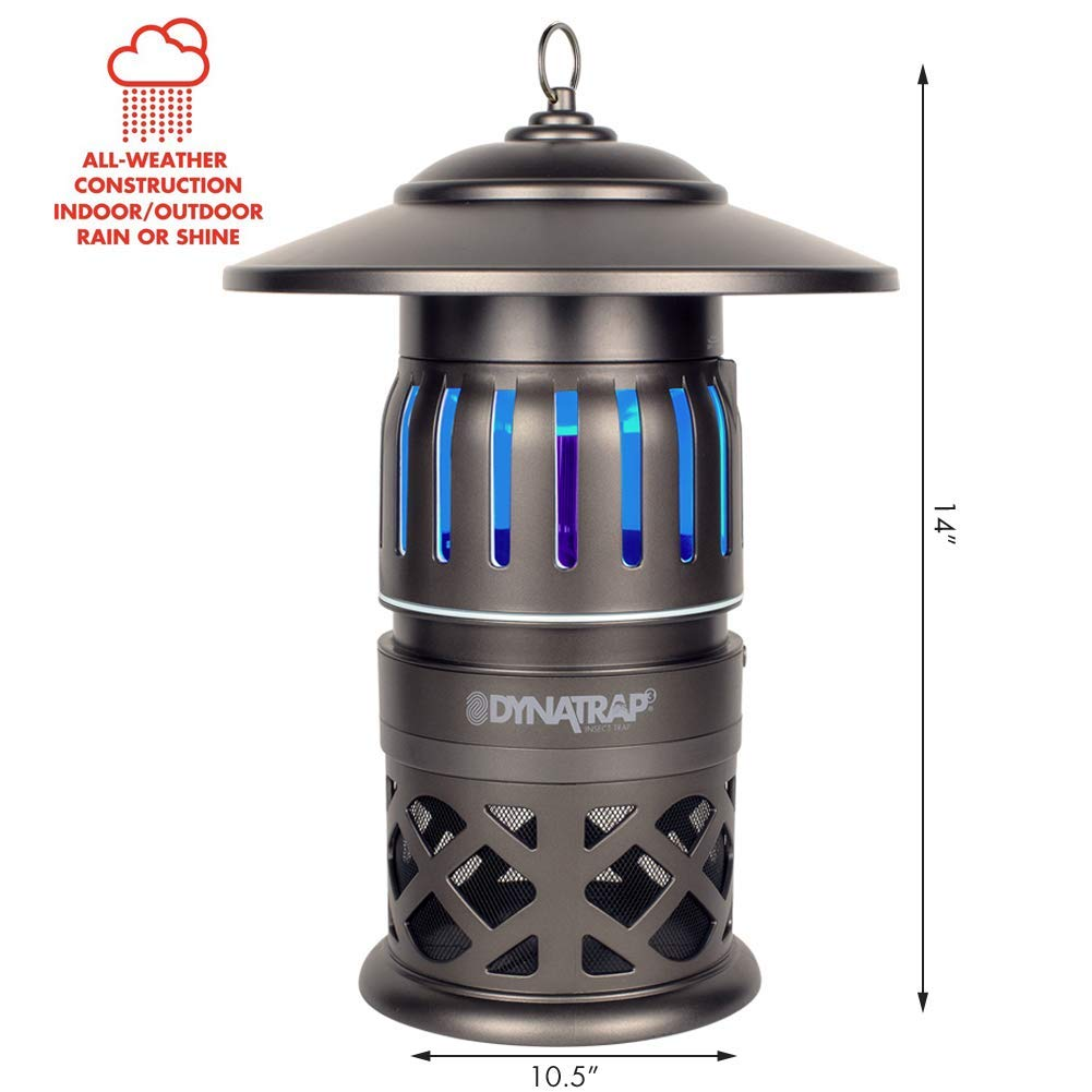DynaTrap Insect Trap (DT1050-TUN), 1/2 Acre, Decora Series, Tungsten by DynaTrap (Image #2)