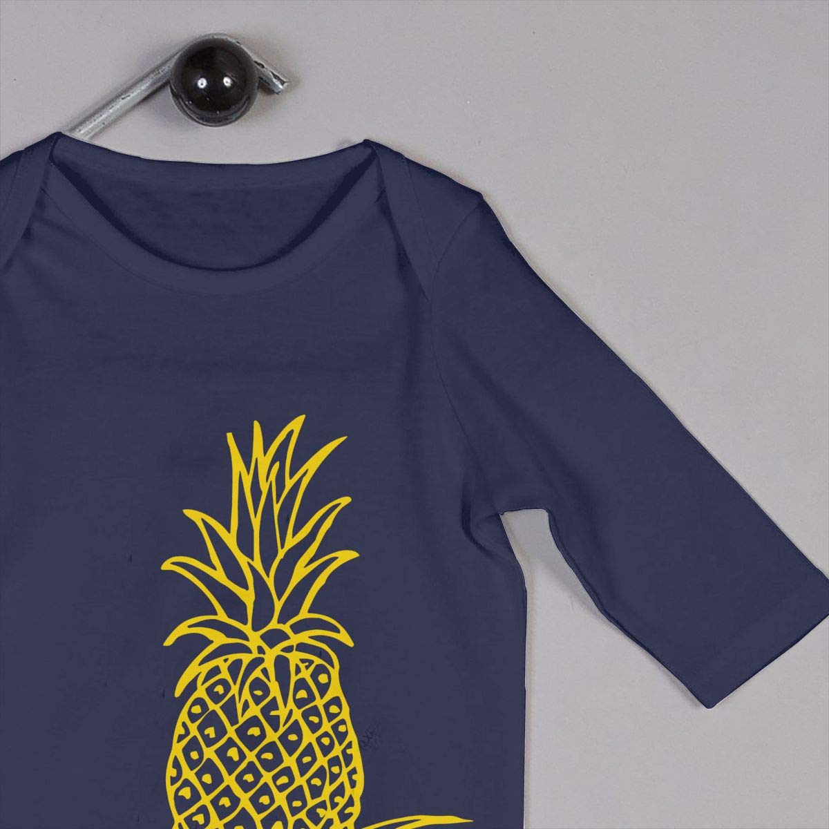 Baby Boy Long Sleeved Coveralls Pineapple Outline Clip Art Baby Clothes