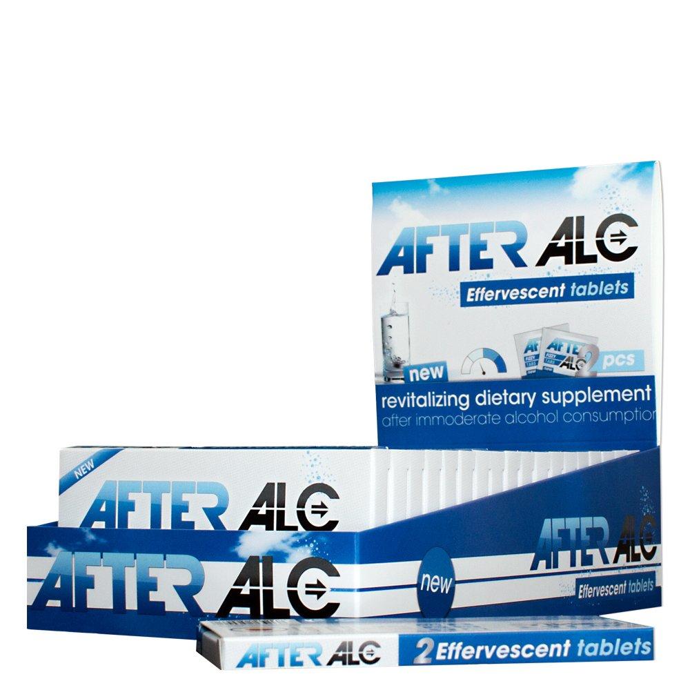 Kit anti resaca en práctico paquete de 5 (5x2 pastillas efervescentes): Complemento alimenticio para el alivio de los malestares ocasionados por el consumo ...