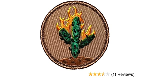 0605d6b5b57f Amazon.com: Burning Cactus Patrol Patch - 2
