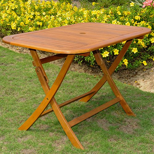 60 in. Rectangular Folding Patio Table