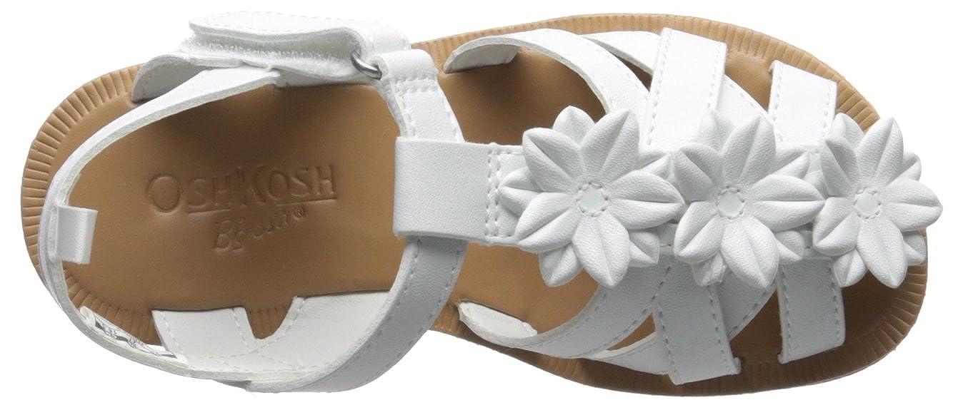 OshKosh BGosh Kids Perdita Girls White Flower Fisherman Sandal OshKosh B/'Gosh