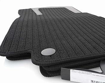 Rips Fußmatten W176 Set 4 Teilig Automatten Original Qualität Ripsmatten Schwarz Auto