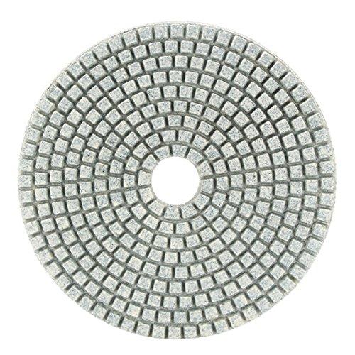 EsportsMJJ 7Pcs 5 Pollici 50-3000 Graniglia Lucidante Pad Levigatura Disco Per Marmo Calcestruzzo Granito Vetro