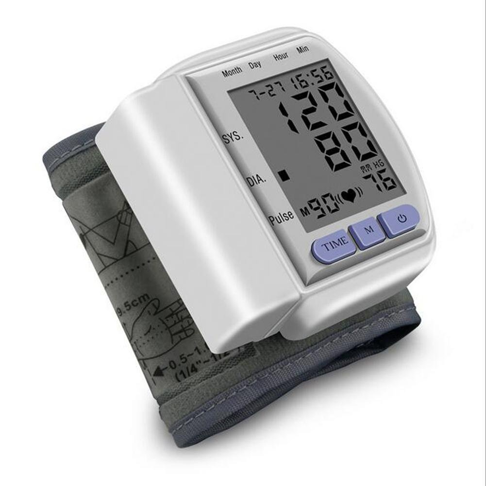 Amazon.com: LPY-CK-102S Wrist Automatic Blood Pressure Monitor,For ...