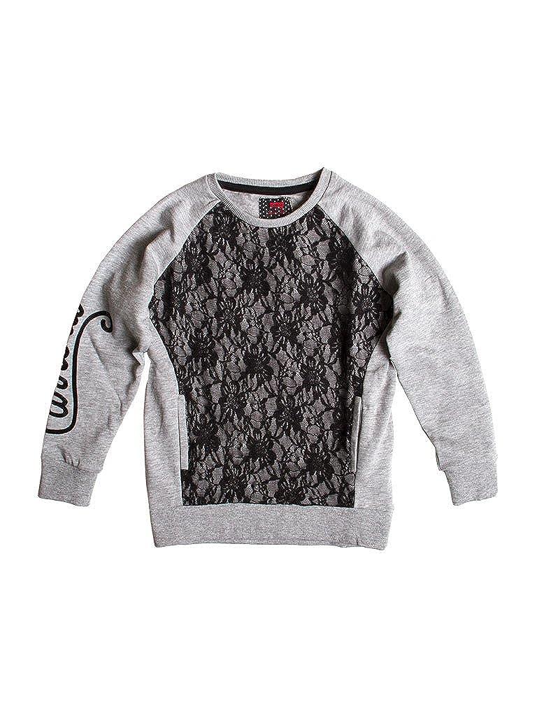 842 - gris 13-14 ans (hauteur  164 cm) voiturerera Jeans - Sweat-Shirt 869 pour Fille, MultiCouleure, Taille grand, Manche Longue