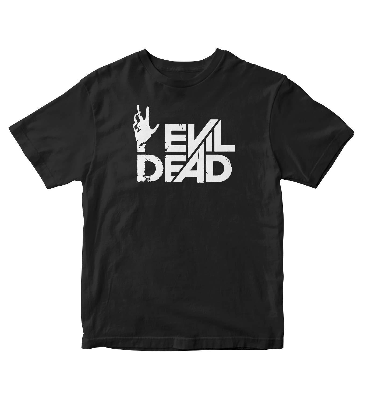 Evil Dead Horror Movie Hand S Black Shirt M57