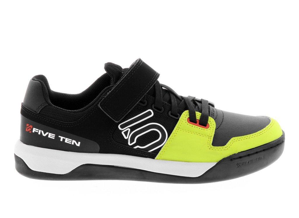 Five Ten Men's Leather Hellcat Clipless MTB Bike Shoes B01GHMSG50 5 D(M) US|Semi Solar Yellow