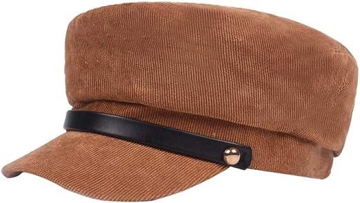 HAPKQZY Sombrero Señora Sombreros de Invierno Mujer Gorra de ...
