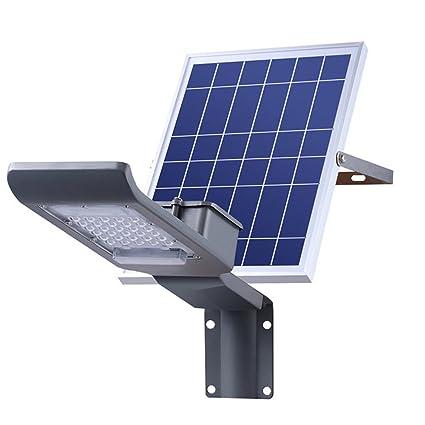 Solar Farola de al aire libre inalámbrica de Sensor Detector de movimiento lámpara de Control Remoto