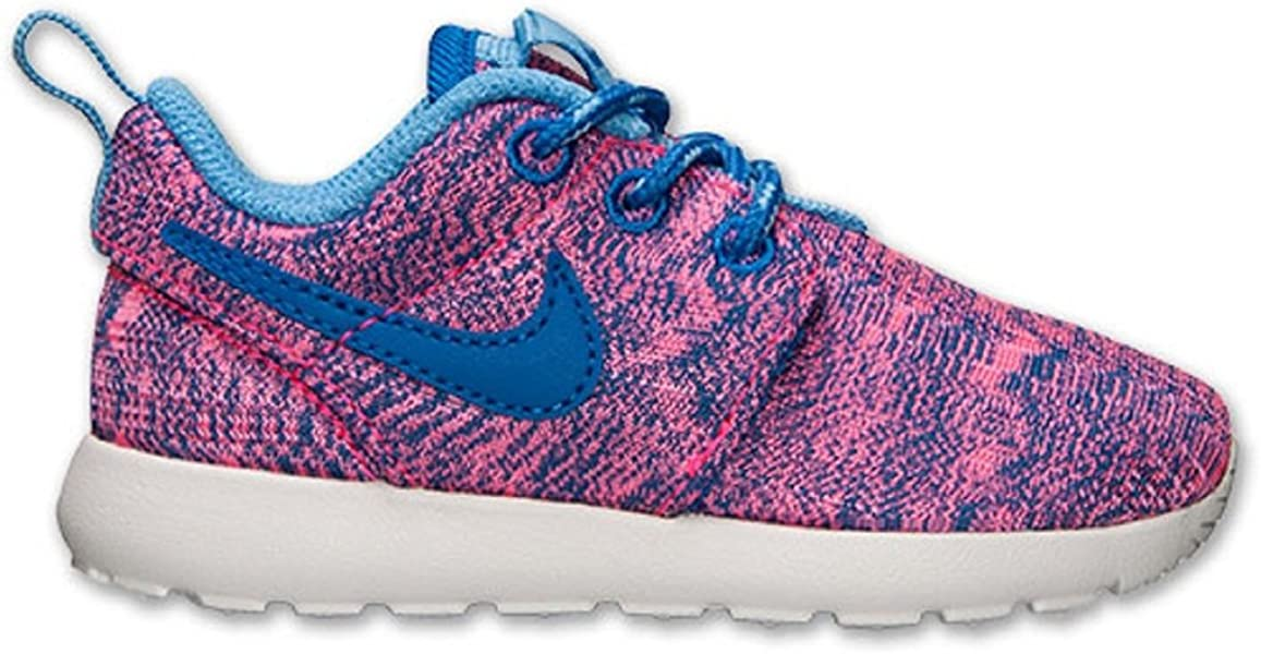 5a3768dc9a15 Nike Roshe Run Print Low Girls Fashion-Sneakers 677785-600 6C - Hyper Pink