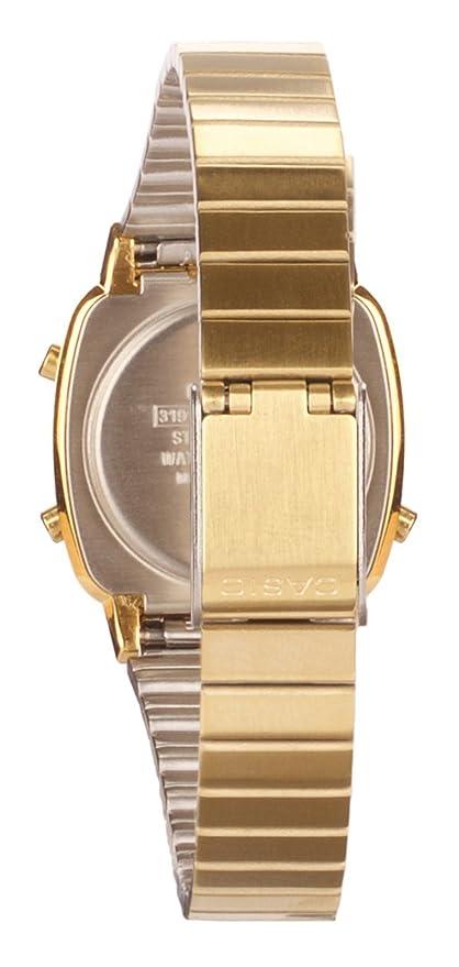 7a4fbb845ddd Casio Reloj de Pulsera LA670WEGA-1EF  Amazon.es  Relojes