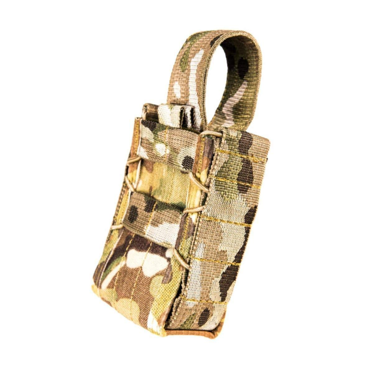 High Speed Gear Stun Gun Taco Holster | Fits X26 and X2 Tasers | MOLLE Compatible for PALS, Battle Belts and More (Multicam) by High Speed Gear