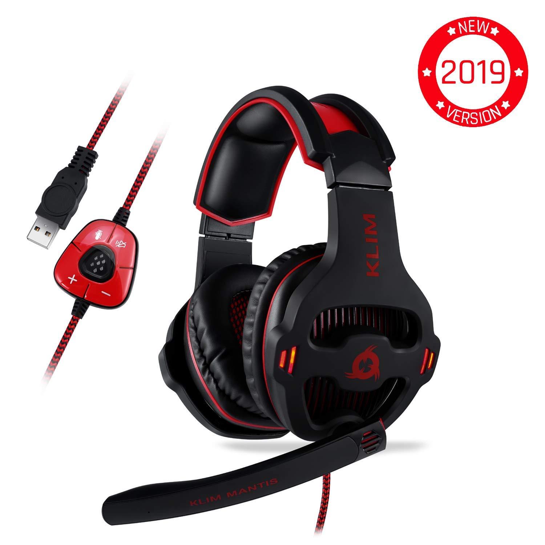 online retailer 0f512 1ef86 ⭐️KLIM™ Mantis - Micro Casque Gamer - USB 7.1 - Haute Qualité - Ecouteurs