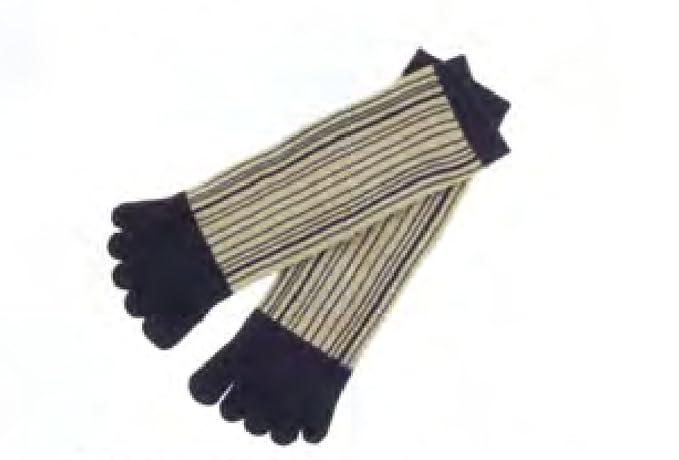 Japan Ninja 5toe Socks 30606608 Vertical Stripe Kyoto ...