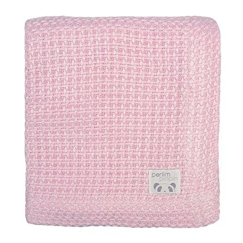 Extra Cozy Bamboo Blanket – Children, Baby – Antibacterial (pink) Perlimpinpin