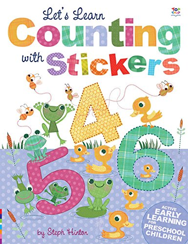 Let's Learn Counting with Stickers (Steph Hinton Sticker - Ireland Oakley Store