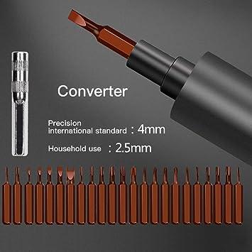 Mini destornillador eléctrico, dezirZJjx Precision Mini desarmador ...